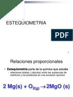 Estequiometria GASES