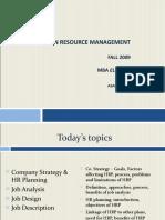 Human Resource Management Fall2009 789