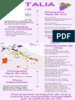 Infografía Vinos de Italia