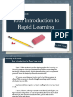 Your Introduction to Rapid Learning