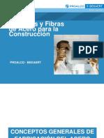 Alambres Fibras Acero Construccic3b3n