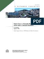 2357_Santa Cruz e a Fazenda Nacional - Notas Sobre a Situação Fundiária