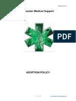 Adoption Policy v1
