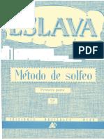 Metodo de Solfeo Hilarion Eslava