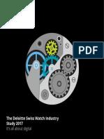 Ch en Swiss Watch Industry Study 2017