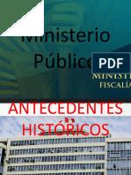 Antecedentes Ministerio Público