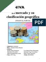 El mercado y su clasificación geográfica