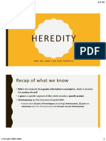heredity pt 1