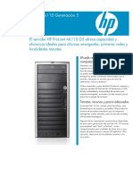 Server HP Proliant ML110 G5.pdf