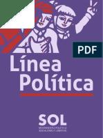 Línea Política MPSOL