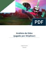 Consejos Para Ekko - Analisis Siphtur