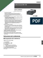 n101 k3gn 1 32 Din Digital Panel Meter Datasheet Es