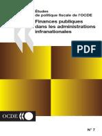 Tudes de Politique Fiscale de l OCDE n 7 Finances Publiques Dans Les Administrations Infranationales