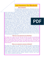 12. Questions and Answers on Ekadashi(1)