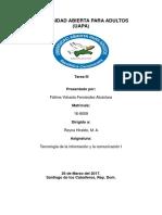 TAREA III Tecnologia de La Informacion