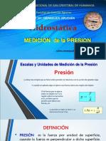 Medicion de Presión Rmr