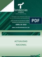 Tendencias 2018 Gestión de Gobierno -  Imagen de políticos.