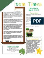 march 2 newsletter