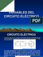 Presentación1variables del circuito electrico