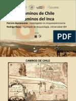 Caminos Del Inca Caminos de Chile Bustamante y Rojas
