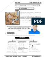 2DO AÑO - LENGUAJE - GUIA Nº6 - EL PRONOMBRE.doc