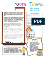 may 4 newsletter
