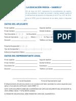 Formulario Básico ICFES Saber 11 - 2018