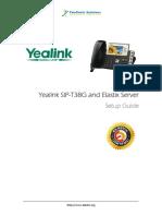 Yealink Sip t38g Phone Setupguide