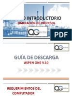 Instructivo Descarga ASPEN HYSYS