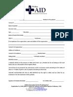 Zakat Form English Version