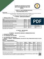 Boletim Geral Nº 35 de 21FEV2018