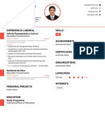Andersson's Resume