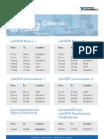 NI Training Calendar Q3 08