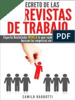 El Secreto de Las Entrevistas de Trabajo - Camilo Barbotti