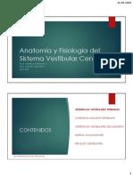 02 - Anatomía y Fisiología Del Sistema Vestibular Central