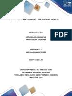 Unidad 3. Estudio Financiero y Evealuación Del Proyecto