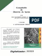 Compêndio de História da Igreja  Vol I [A Antiguidade Cristã] – Frei Dagoberto Romag O.F.M(AGRAPHAI)..pdf
