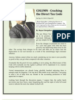 New Direct Tax Code 2010