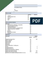 Analisis Precios Unitarios In