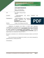 Informe Nº 042 Conformidad de Compra de Materiales