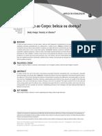 Culto ao corpo - beleza ou doença.pdf