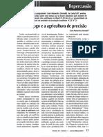 O Pedologo e a Agricultura de Precisão