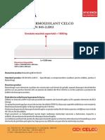 Fisa Tehnica Buiandrug Termoizolant CELCO