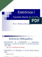 Transistor Bipolar de Junção - TBJ