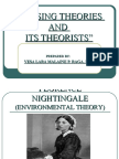 Nursing Theories and Its Theorists