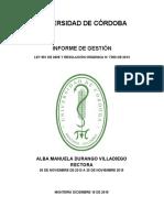 Acta Informe de Gestion