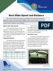 Best Glide Speed and Distance