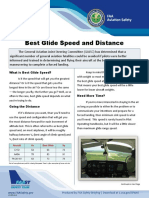 Best Glide Speed and Distance