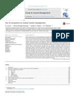 Use of Ecosystems in Coastal Erosion Management