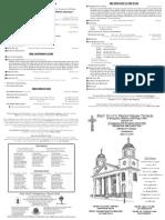 160515 Bulletin Pentecost Communion